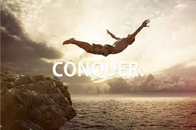 In the Face of my Fears I Believe that I'm more than a Conqueror...
