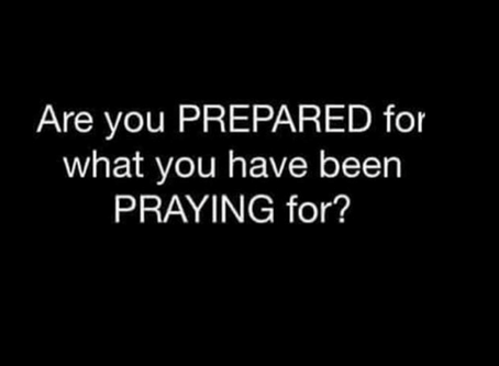 Are You Prepared and Ready to Receive?