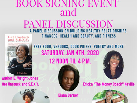 This Saturday, January 4th from 12 noon til 4 p.m.