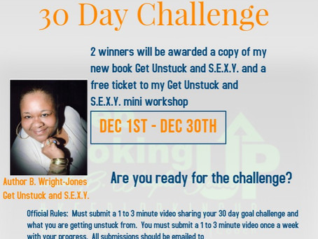 Get Unstuck and S.E.X.Y. 30 Day On-Line Challenge