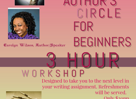 Author's Circle for Beginners Workshop
