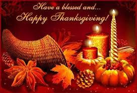 Have a blessed Thanksgiving/Next Live Broadcast