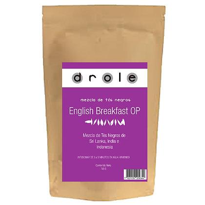 Té Negro English Breakfast Drole 50 Grs