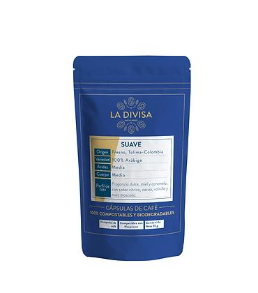 Cápsulas de Café Suave (Arábica, Café de Origen, Café de Especialidad)