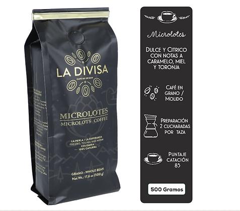 Café La Divisa Microlotes 500 grs
