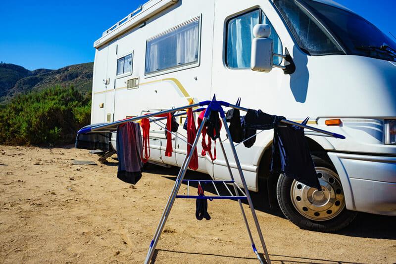 machine a laver portable montagne paysage