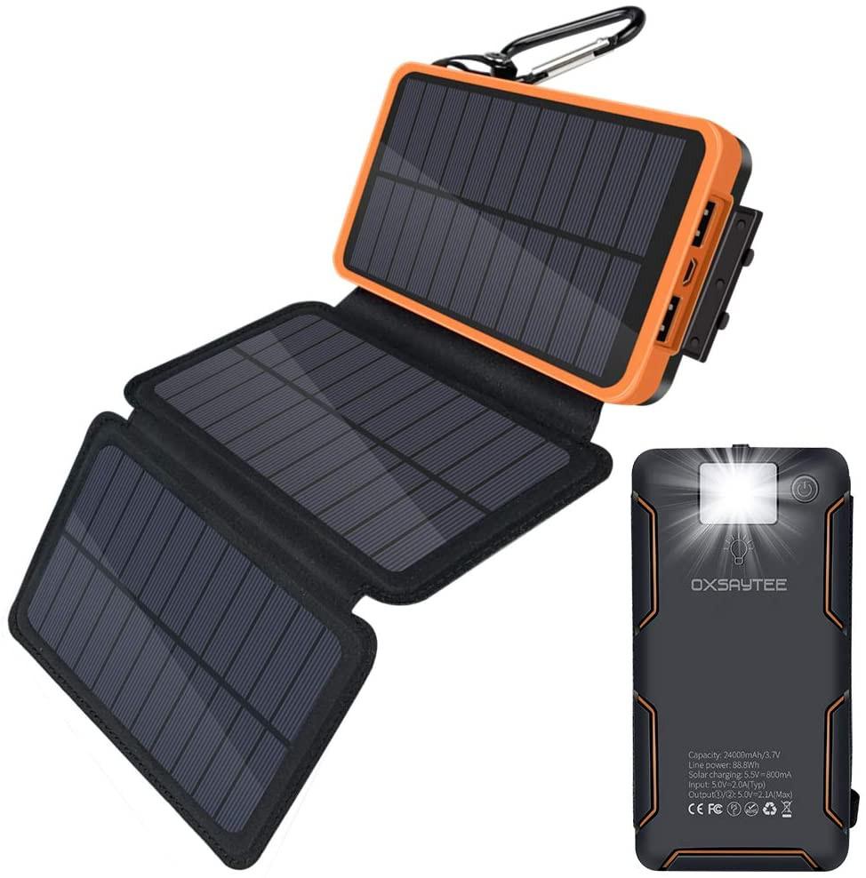 Meilleur Chargeur solaire portable mousketon