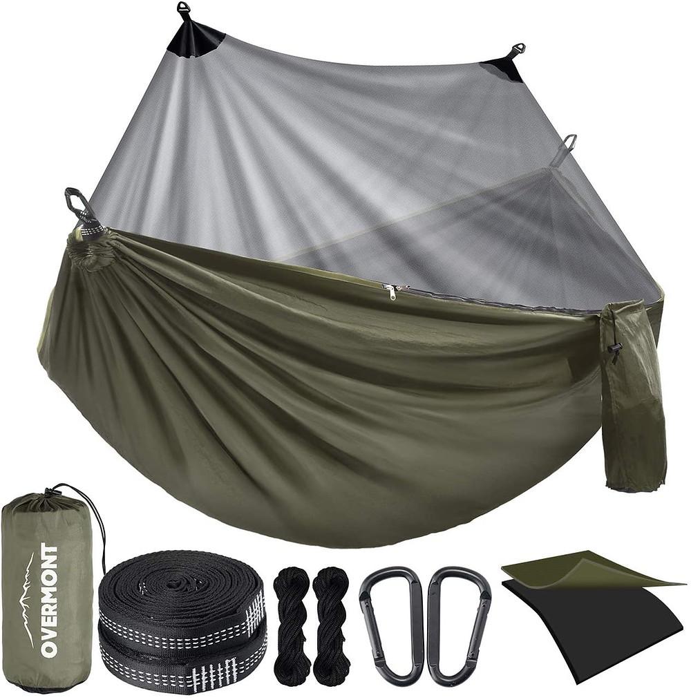 hamac de camping avec moustiquaire Overmont