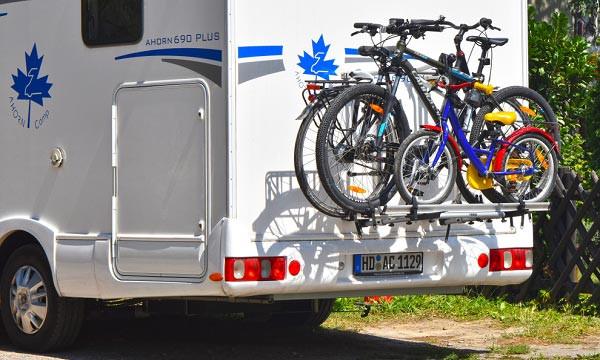 porte-vélos pour camping-car