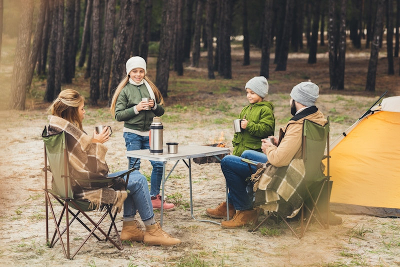 Meilleure Table de Camping 2021 famille