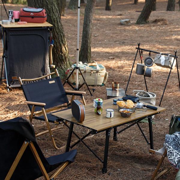 Meilleure Table de Camping 2021 feu de bois
