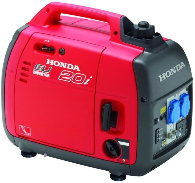 generator portable pour camping car Honda rouge