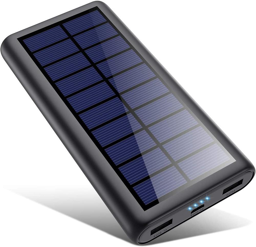 Meilleur Chargeur solaire portable 4 led