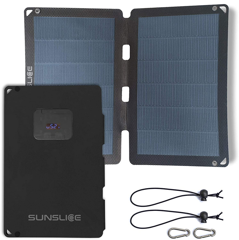 chargeur solaire portable sunslice fusion