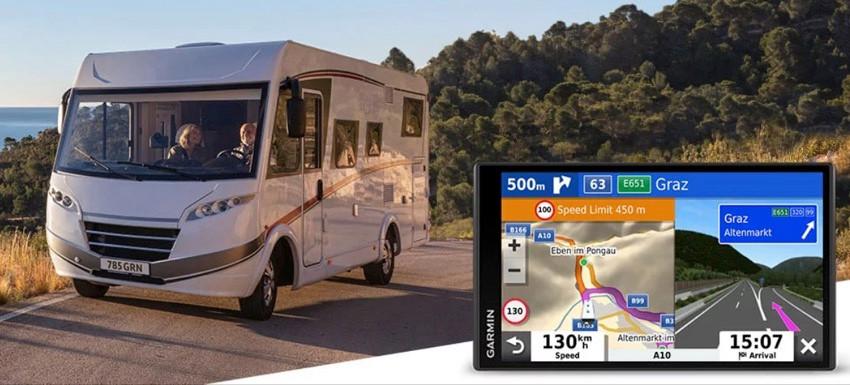 GPS camping-car Garmin avec alerte radio