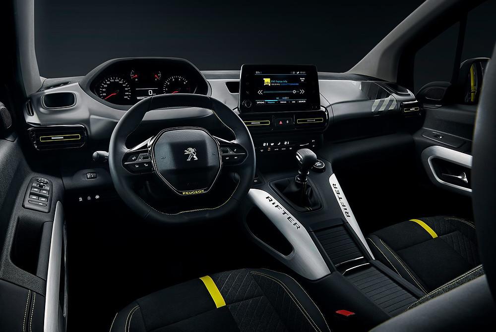 Peugeot 4 × 4 RIFTER Concept