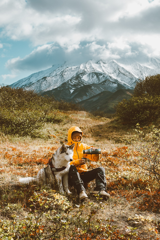 Mug Isotherme devant la montagne