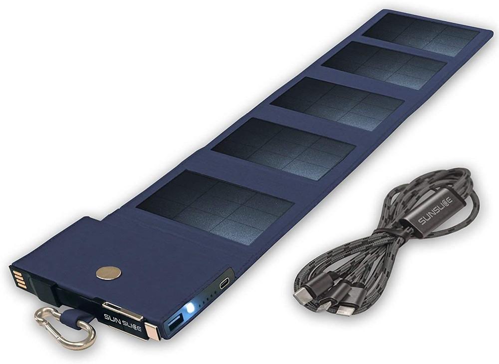 chargeur solaire portable sunslice photon