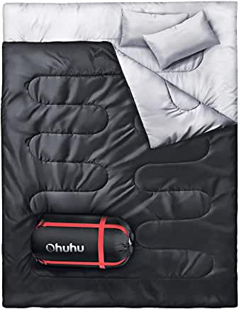 Meilleur sac de couchage 2 personnes petit budget: Ohuhu