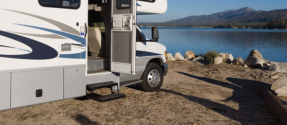 marche pied camping car