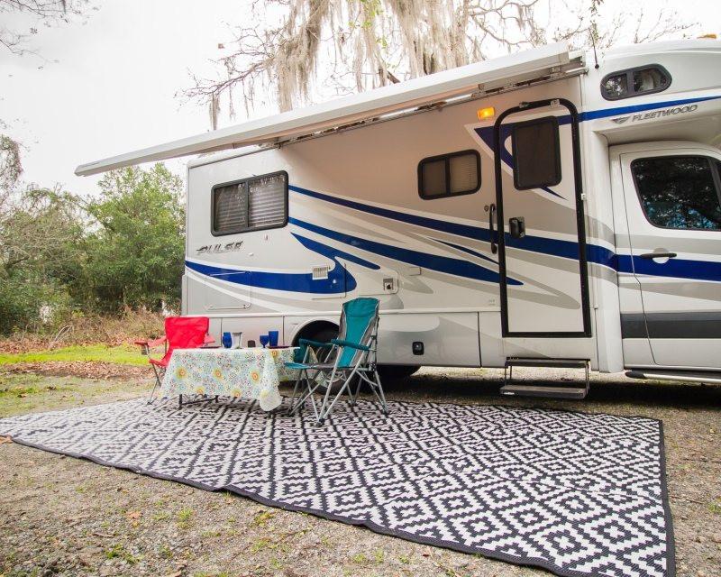 Meilleurs Tapis de Sol pour Camping et Camping-car
