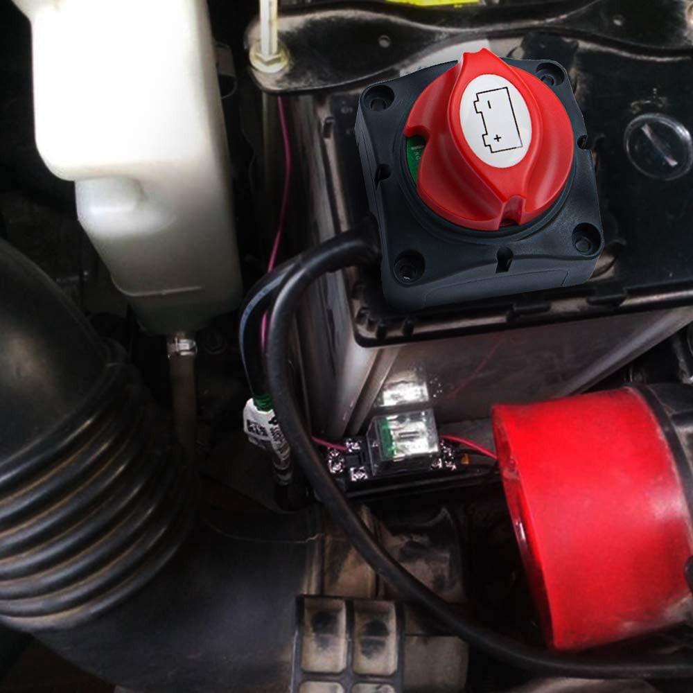 coupe batterie dans une voiture installation surface