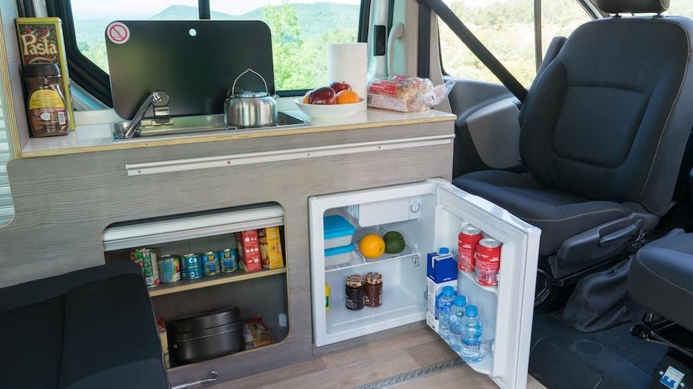 Frigo camping car