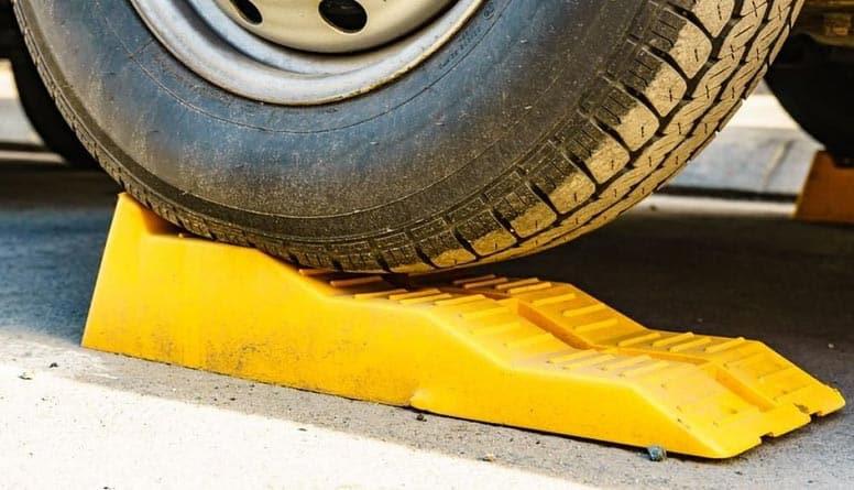rampe de levage jaune