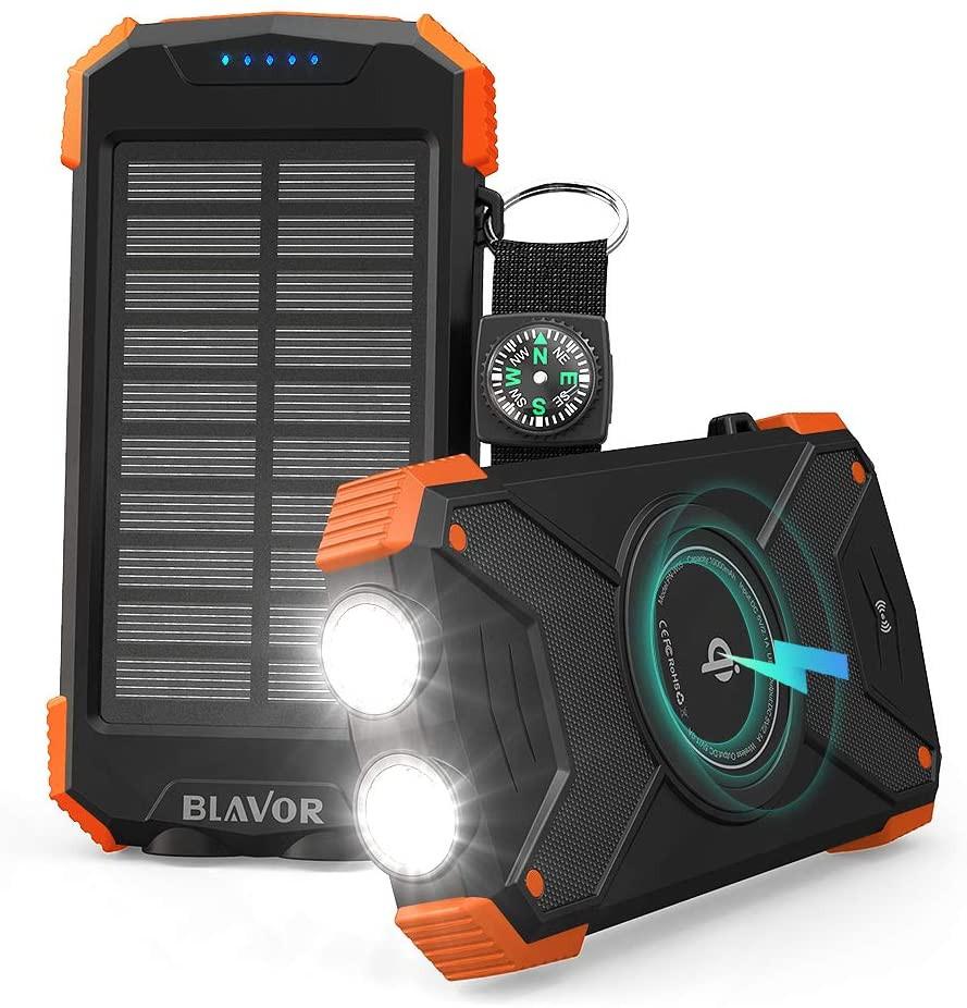 Meilleur Chargeur solaire portable LED