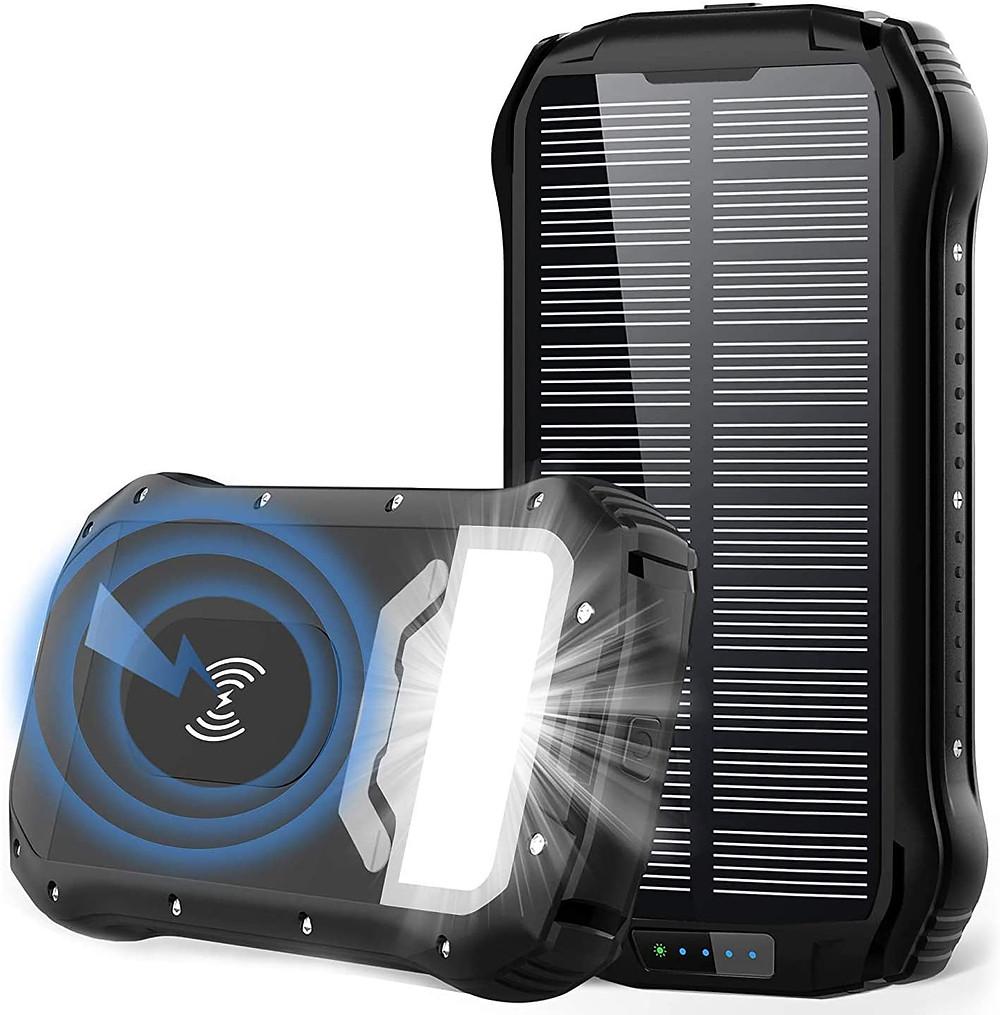 Meilleur Chargeur solaire portable batterie