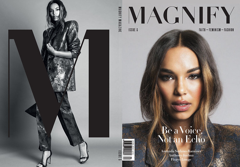 MAGNIFY Magazine Issue 3 cover.