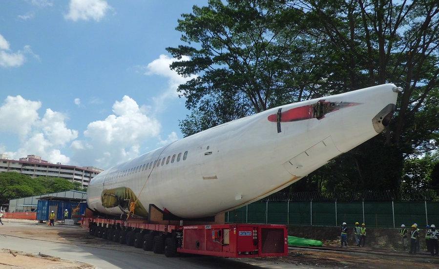 Airplane Fuselage Transport