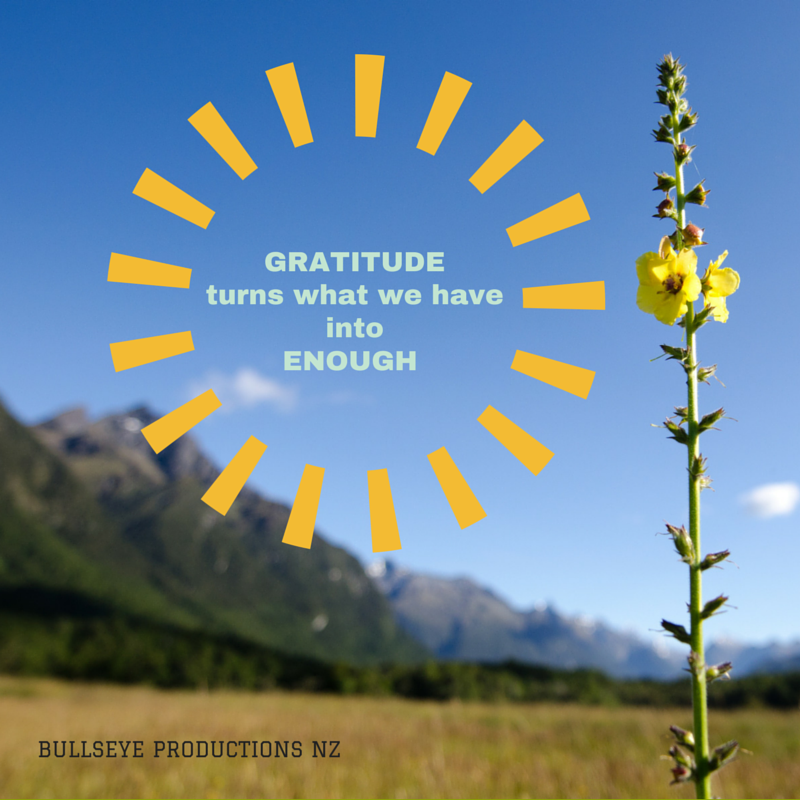 Inspirational quote about gratitude