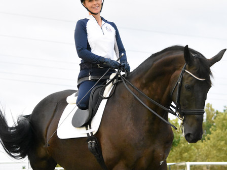 Very Proud to announce I am Now a Sponsor for Katie Jackson Para-Dressage