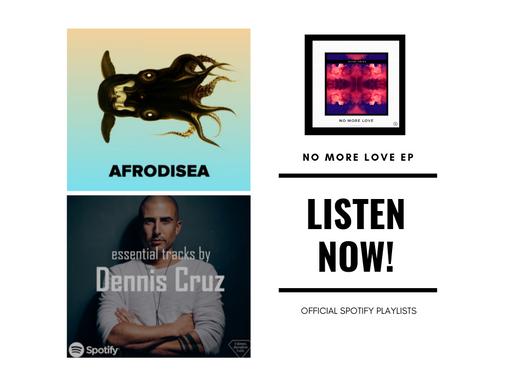 Spotify Playlist Charts: Michel Degen | No More Love EP
