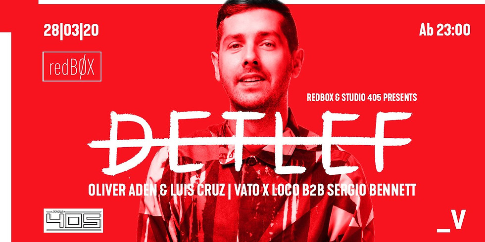 RedBøx & Studio 405 presents: Detlef