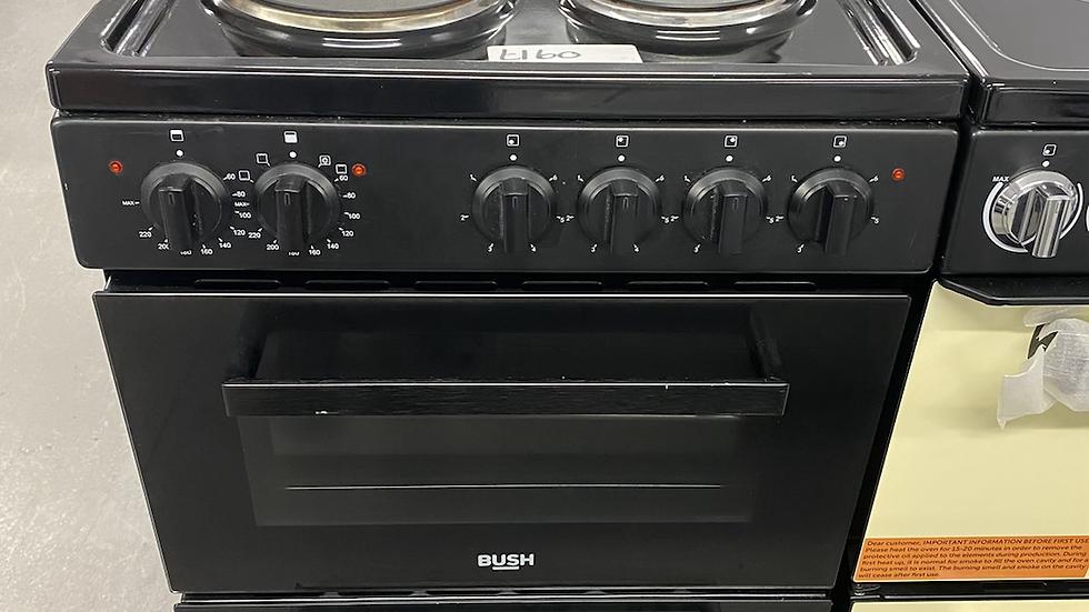 (058) Bush BETAW50B 50cm Twin Cavity Electric Cooker - Black