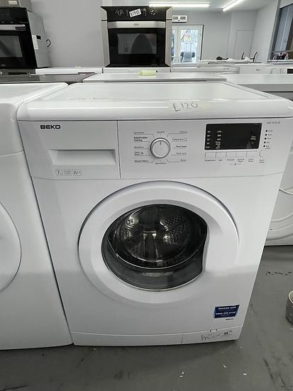 (159) Beko WM74135W 7kg 1300rpm Freestanding Washing Machine - White