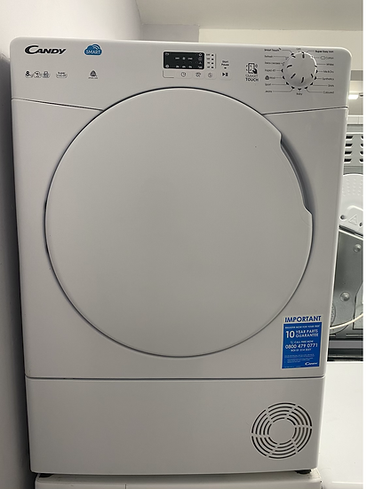 Candy CSC 8LF 8KG Condenser Tumble Dryer - White