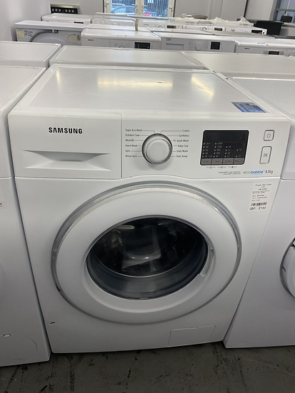(232) Samsung WF80F5E2W4X 8kg 1400rpm Freestanding Washing Machine
