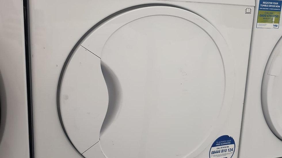 (854) Beko 8KG Condenser Dryer - DCU8230