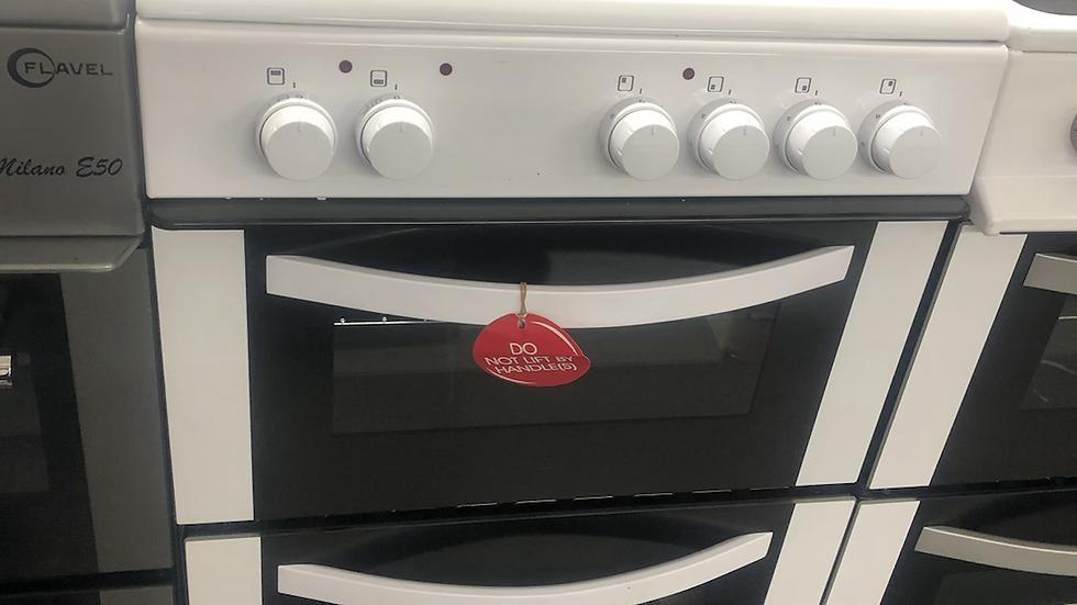(791) Logik 50cm Electric Cooker - LFTC50W16- White