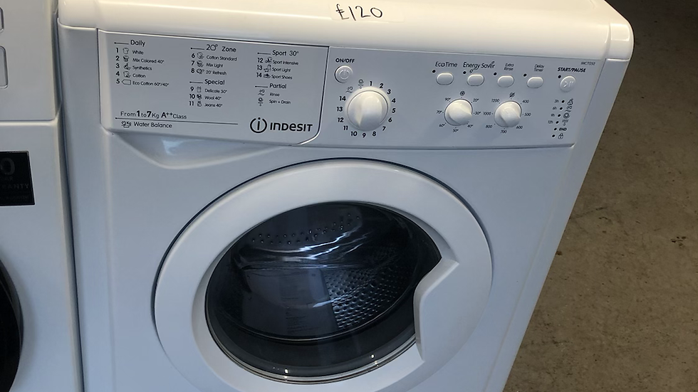 (070) Indesit 7Kg Washing Machine - IWC71252ECOUKM