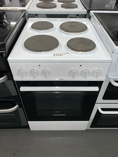 GORENJE E5111WG 50cm Single Cavity Electric Cooker - White