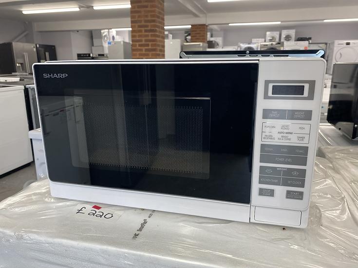 (465) Sharp R-220M 20 Litre Microwave - Silver