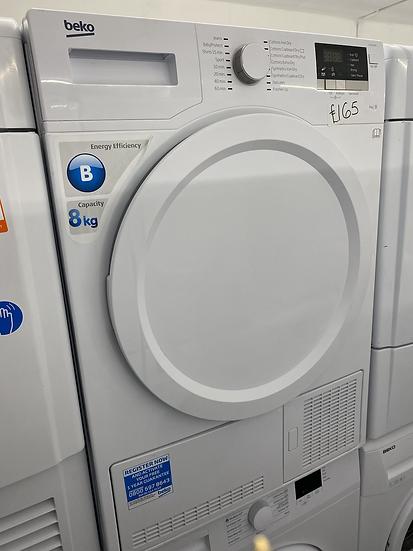 (138) BEKO DCX83100W Condenser Tumble Dryer - White