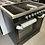 Thumbnail: (330) New World CORBETT90EBLK 90cm Electric Range Cooker - Steel