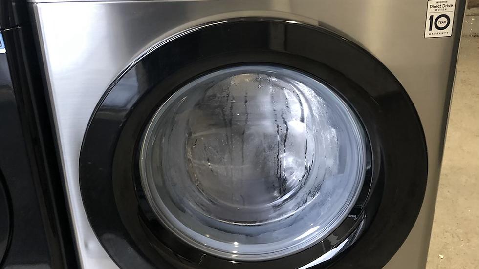 (348) LG AI DD V3 F4V309SNE 9 kg 1400 Spin Washing Machine - Graphite