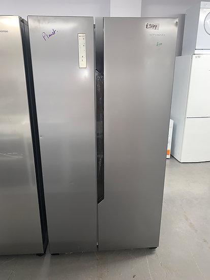 Fridgemaster MS91518FFS Side-by-side American Fridge Freezer - Stainless