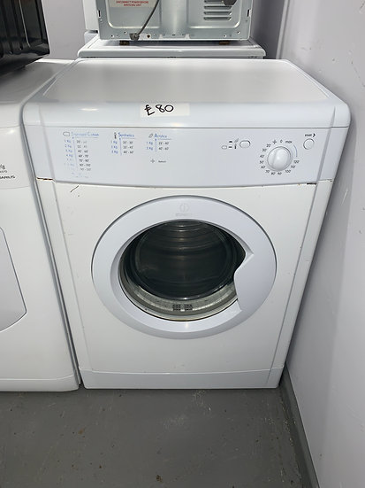 INDESIT Ecotime IDV75 7Kg Vented Tumble Dryer - White